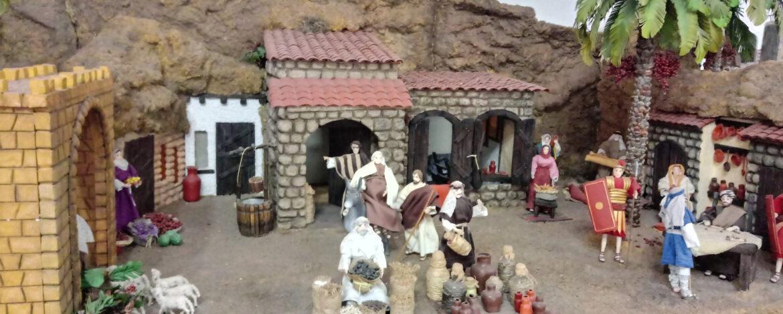 EL PESEBRE DE SANTA TERESITA Y UNA TRISTE NOTICIA