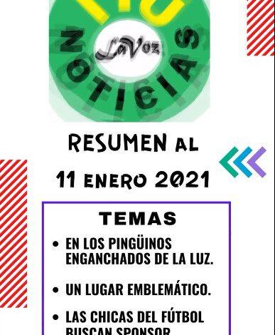 RESUMEN DE NOTICIAS – 11 enero 2021