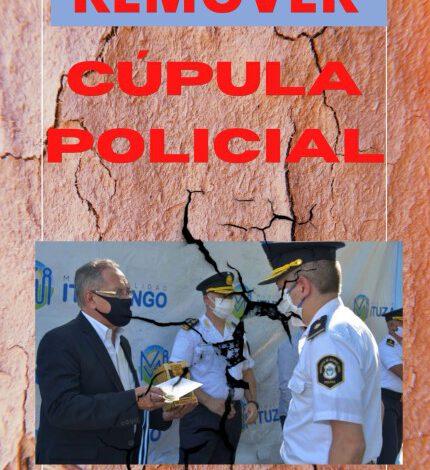 DESCALZO PIDIÓ REMOVER CÚPULA POLICIAL DE ITUZAINGÓ